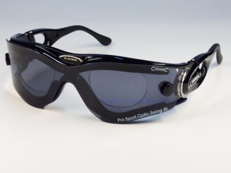 Alpina PSO Swing 30 inkl. Sehstärke schwarz